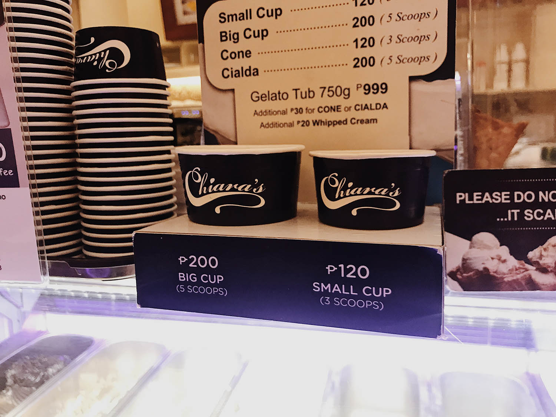 Chiara's Cups