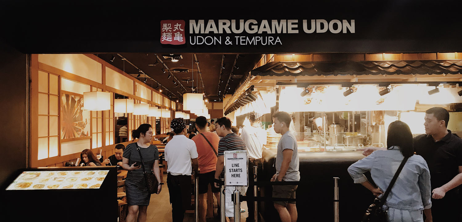 Bingbing Wanders - Marugame Udon - Featured Image