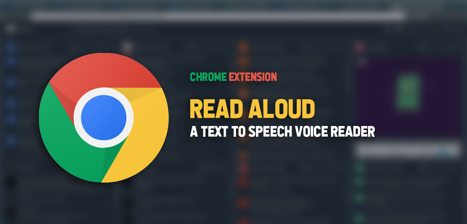 Read Aloud - A browser reading assistant featured image